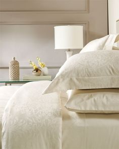 One of the first things I improve on for my clients is to implement proper bed linen care. Well cared for and freshly washed linens are a dream to sleep on, here are some tips from the pro's.  New bed linens must be washed before first use, they are not pre washed. Most new bed linens have shrinkage factored into their