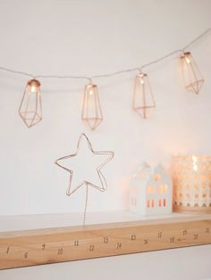 DIY & Calendrier de l'Avent en bois – Loïcia Itréma Wall Lights, Blog, Home Decor, Appliques, Decoration Home, Room Decor, Blogging, Home Interior Design, Wall Lighting