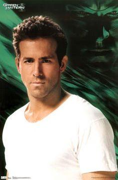 Ryan Reynolds - Green Lantern Movie Poster