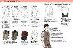 埋め込み Drawing Lessons, Drawing Techniques, Drawing Tips, Drawing Reference, Manga Clothes, Drawing Clothes, Manga Drawing Tutorials, Art Tutorials, Character Design References