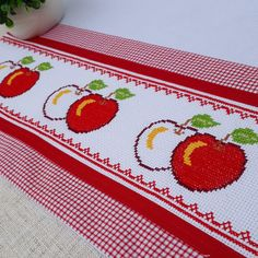 Le Point, Crochet, Hand Embroidery, Coin Purse, Scrap, Cross Stitch, Lily, Dots, Fruit
