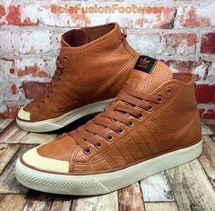 d37a1f35d76809 adidas Originals Mens Nizza Classic 78 Trainers Brown sz 11 Sneakers US 46  in Clothes