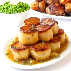 Garlic Thyme Fondant Potatoes - a homey yet elegant side that proves delicious taste never goes out of fashion. Perfect for dinner parties or Sunday dinner.