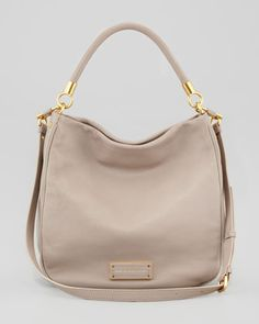 Too Hot To Handle Hobo Bag, Tan by MARC by Marc Jacobs at Neiman Marcus.