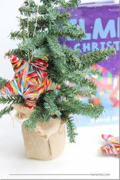 donneinpink - risparmio e fai da te: Decorazioni natalizie stelle fai da te con lana e ...