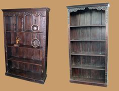 These bookcases have a distinct appeal. You will be impressed by their shapes. They have a nice design.