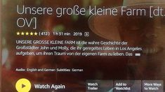 "Film Empfehlung ""Unsere große kleine Farm"" Movie, Small Farm, True Stories, Giving Up, Life"