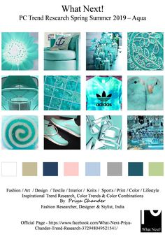 S/S 2018 fashion colors trends: Aqua