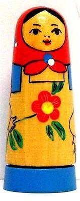 Matryoshka Russian Wood Doll RARE Russian Perfume Box Bottle with Perfume   eBay