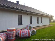 Blog MojaBudowa.pl - internetowy dziennik budowy, katalog firm budowlanych Bungalow House Design, 3 Bedroom House, Dream House Plans, House Ideas, Photos, Home, Fuller House, Houses, Dream Home Plans