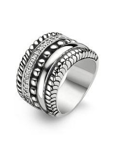 Ti Sento Ti sento favourites zilveren ring