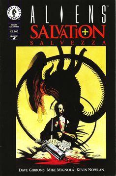 "Dave Gibbons (storia) & Mike Mignola (disegni) ""Aliens Salvation"" - Dark Horse - Phoenix, 1998"