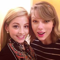 Gracie Gold and Taylor Swift