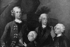 """""""Alle Adeligen im 18. Jahrhundert hatten gleichgeschlechtliche Erfahrungen"""", sagt Eva Ziebura – Die Preußen- Prinzen Friedrich (v. l.) und seine Brüder Ferdinand, August Wilhelm und Heinrich"""