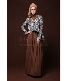 HOODED PRINT JACKET - shafira.com...love this outfit