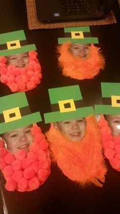St Patricks Day Crafts For Kids The Effective Pictures We Offer You About Spring Crafts For Kids birds A quality picture can tell you. March Crafts, St Patrick's Day Crafts, Daycare Crafts, Toddler Crafts, Spring Crafts, Holiday Crafts, Arts And Crafts, Toddler Preschool, Saint Patricks Day Art