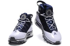 Air Jordan Six Rings Fusion White Indigo Black Shoes
