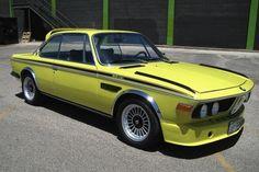 1972 BMW 30 CSL Golf Yellow