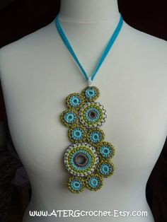 Lovely Crochet Necklace