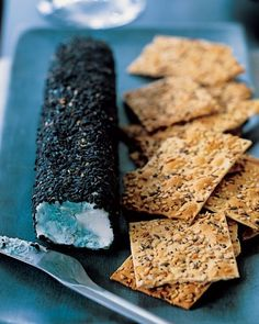 Petrified Cheese Log - Serve up something that looks as if it's been festering in the pantry for months, even if it is really fresh and delicious.
