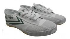 Feiyue Shoes Grey Original Womens/Mens Delta Mid Canvas / Suede Sneakers - Dereo Shop