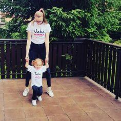 Koszulki mama córka  Jaka Mama Taka Córka  💕😍🌼💐 www.jakamama.pl.