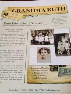 Olive Tree Genealogy Blog: January Genealogy Challenge: Write an Ancestor Tribute