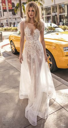 berta 2019 muse bridal sleeveless illusion jewel sweetheart neckline heavily embellished bodice romantic sheer button back sweep train (5) mv -- Muse by Berta 2019 Wedding Dresses | Wedding Inspirasi #wedding #weddings #bridal #weddingdress #bride ~