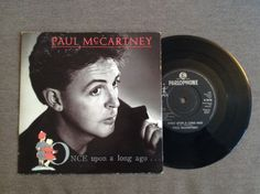 Once Upon A Long Ago / Back On My Feet by Paul McCartney, 1987, 45 rpm