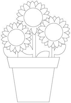Sellos gratis Digital de flores |