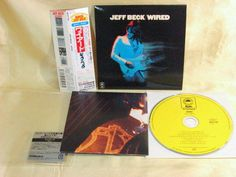 CD/Japan- JEFF BECK Wired w/OBI mini-LP RARE Digital Remaster MHCP-589 #HardRockJazzRock