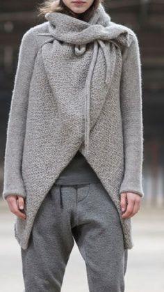 Simplicity is Grey | #StyleInspirations @SorayaElBasha