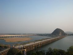 Prakasam Barrage #Vijayawada - Apart from the glory of the #natural surroundings, the #river and the barrage provided a unique look and feel. Here is a snap I would like to share with my wonderful readers..Take a look and you are sure to be mesmerized with the awe-inspiring view! #travel #ttot #destinations