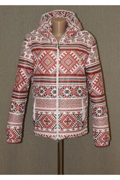 "Куртка ""Вишиванка"" з капюшоном"