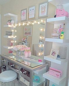Are you in need of some genius bedroom storage ideas? – [pin_pinter_full_name] Are you in need of some genius bedroom storage ideas? Are you in need of some genius small space bedroom storage… Girls Bedroom Storage, Room Ideas Bedroom, Bedroom Decor, Bedroom Organization, Makeup Organization, Vanity For Bedroom, Diy Ideas For Bedroom, Boys Bedroom Ideas 8 Year Old, Bedroom Hacks