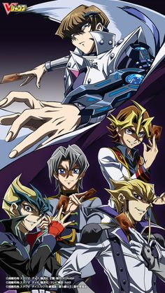 Yu-Gi-Oh! Rivals (many would argue Shark, Reiji, Manjoume and Ryo are the rivals)