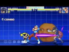 Annoying Orange And Chun-Li VS Leon Magnus & Bubbles The Powerpuff Girl In A MUGEN Match / Battle This video showcases Gameplay of Bubbles The Powerpuff Girl From The Powerpuff Girls Series And Leon Magnus From The Tales Series VS Chun-Li From The Street Fighter Series And The Annoying Orange In A MUGEN Match / Battle / Fight