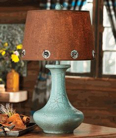 Exceptional Sweetwater Turquoise Table Lamp
