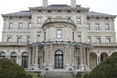Newport RI. The Breakers Mansion was built from 1893-1895, and was commissioned by Cornelius Vanderbilt II.