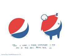 Funny Pepsi Logo Redesign