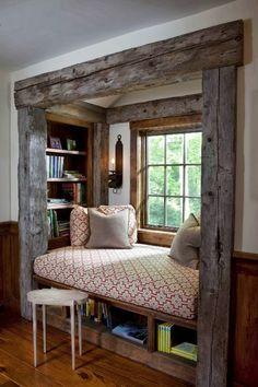 Ideia Genial para estante de livros!