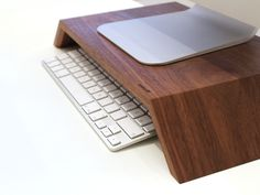 Monitor wood iMac stand by WoodUp Más