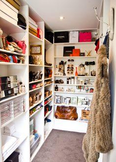love my organised wardrobe. Wardrobe Organisation, Wardrobe Storage, Wardrobe Closet, Closet Organization, Organization Station, Organizing, Kitchen Cupboard Organization, Garden Bed Layout, Handbag Storage