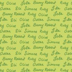UI Elements/Typography - friendly handwriting