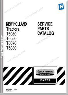 New Holland Roll-Belt 450, 460 Round Baler Operator's
