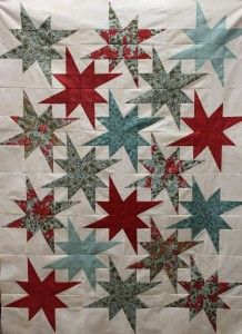 Points and Peaks Quilt - from Spikes and Peaks by Kaye England. Class at MyFabricAffair.com in Troy, MI