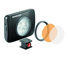 Surface Mount Technology LED Light 210 Lux Dimmable MLUMIEPL-BK - Lumie LED Lights | Manfrotto