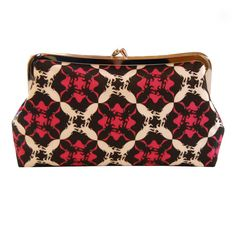 Squid plaid clutch purse by jenniferladd on Etsy, $65.00