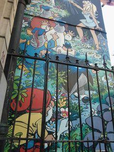 Belgium, street art, graffiti