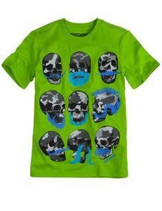Mustache Skulls Tee | Short Sleeve | Graphic Tees | Shop Brothers  (Skulls, Camo, Mustache)